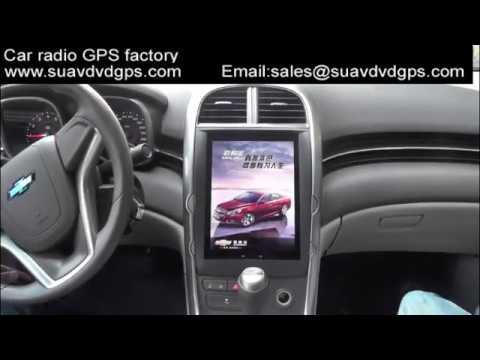 Chevrolet Malibu 10inch Android GPS navigation radio