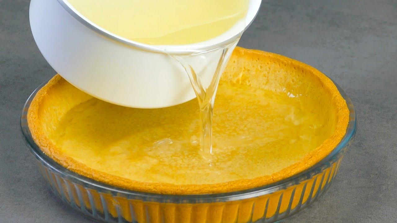 Прозрачный Лимонный Пирог «Невидимый» — Как из Сказки!