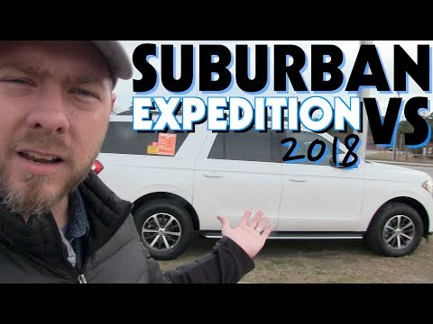 🔵 NEW 2018 Ford Expedition VS 2018 Chevy Suburban   REVIEW & 2018 Ford EcoSport