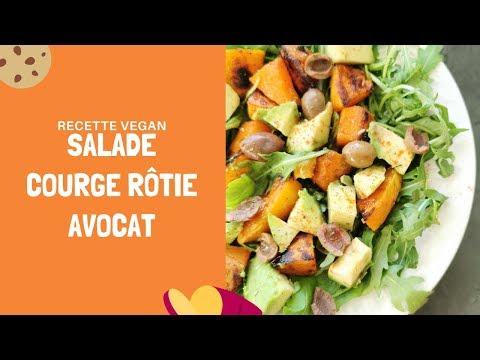 recette-vegan-et-sans-gluten---salade-express-courge-avocat-roquette