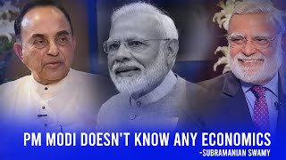 PM Modi doesn't know any economics: Subramanian Swamy | ThinkEdu2020