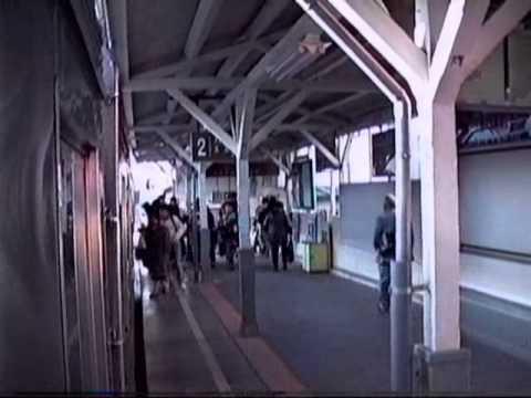 1991 YukigayaOtsuka to Gotanda ll Ikegami Line 雪が谷大塚駅 五反田駅 東急池上線 911124
