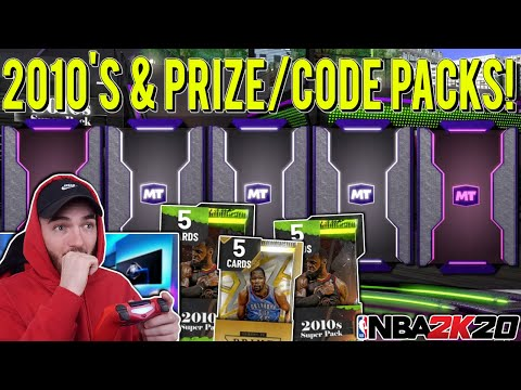 DECADE 2010's & PRIZE PACKS PACK OPENING! 2 *INSANE* GALAXY OPAL PULLS! (NBA 2K20 MYTEAM) from YouTube · Duration:  15 minutes 26 seconds