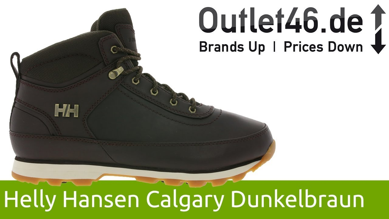 fa48be363ec Helly Hansen Calgary Boot Dunkelbraun l Der Perfekte Winterschuh l 360°  Video l Outlet46.de