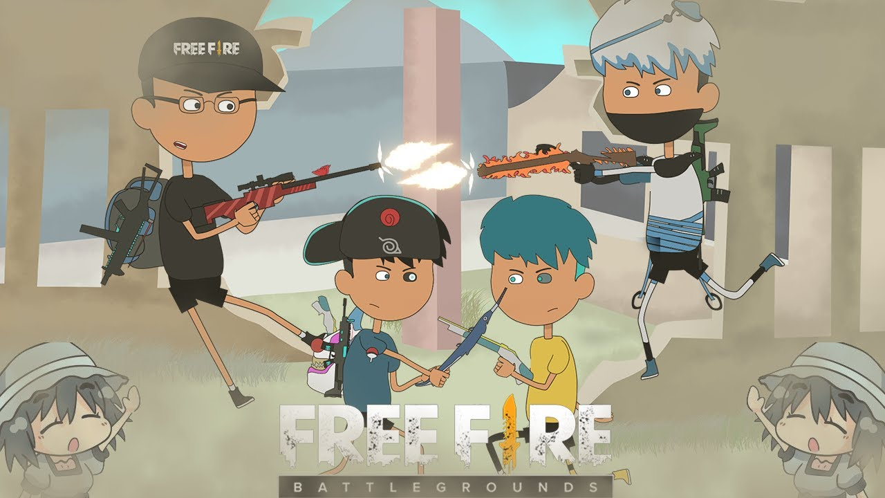 animation free fire - berburu bug free fire bersama rendy rangers - animasi free fire terbaru #17