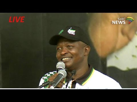 ANC Dep President David Mabuza addresses Polokwane rally: 28 Jan 2018