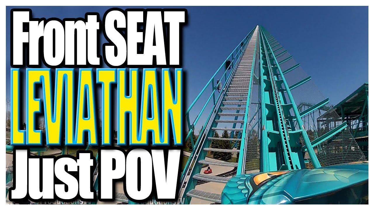 Leviathan Front Seat (Just POV) Canada's Wonderland 2012 ...