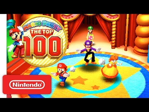 'Mario Party: The Top 100' Official Game Trailer - Nintendo 3DS