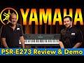 Best Beginner Keyboard of 2020? Yamaha PSR-E273 61-key Portable Keyboard Review & Demo
