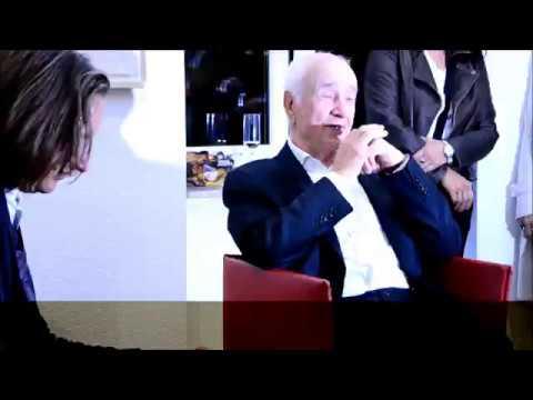 Armin Mueller-Stahl im  mit Michael Braun in der Galerie Roy