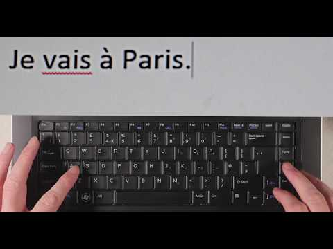 Typing Accented French Characters On A PC