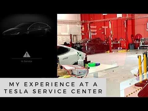 Review of my first visit to a Tesla Service Center for Warranty Work