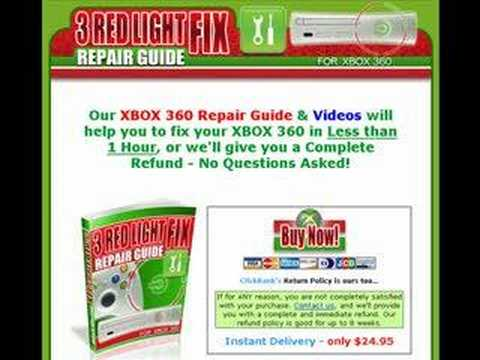 Xbox 360 Red Ring of Death Fix (RRoD)