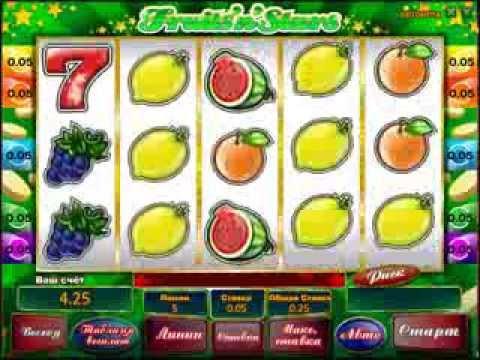Fruits n stars автомат