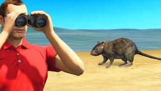 Playing GTA As A Rat.. (GTA RP)