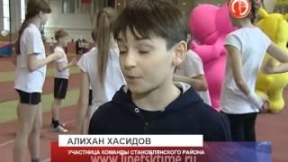 Липецкие школьники готовятся к сдаче норм ГТО...