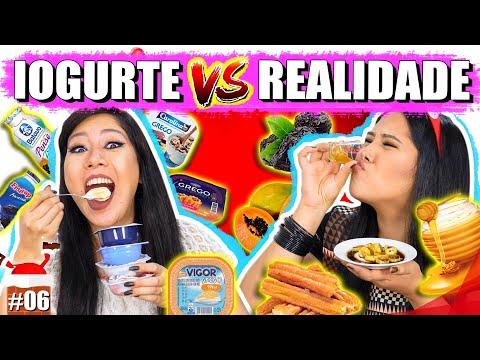 IOGURTE VS REALIDADE #EspecialNatal | Blog das irmãs
