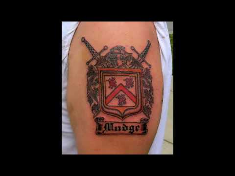 Family Crest Tattoos