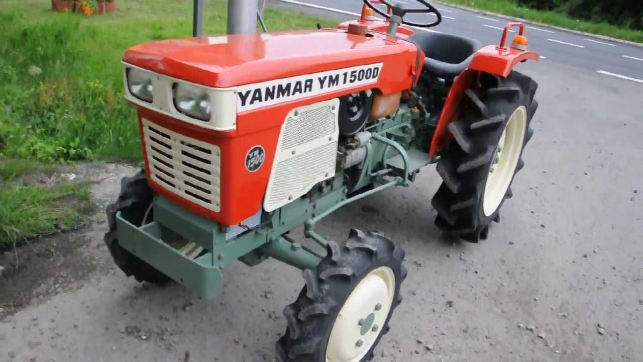 Yanmar Ym1500d 4x4 15ps Doovi