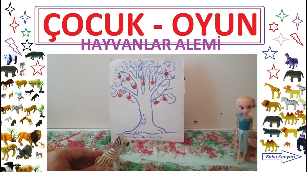 Hayvanlar Alemi - Elma Ağacı