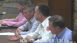 Morton, IL Village Board Meeting - November 18, 2013