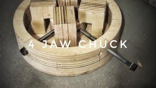 ZepLabs: 4 Jaw Lathe Chuck (DIY)