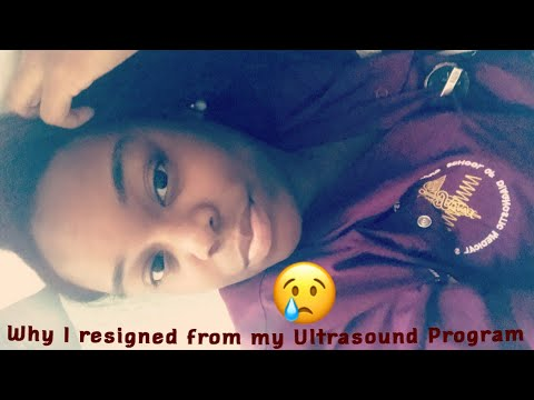 Sonography School Update:: Why I Resigned From My Ultrasound Program🤦🏾♀️😔😥