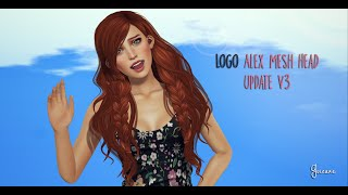 LOGO Alex Mesh Head Update v3 by Fashiowl