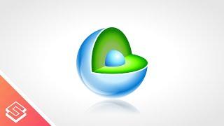 Inkscape Tutorial: 3D Sphere & Core