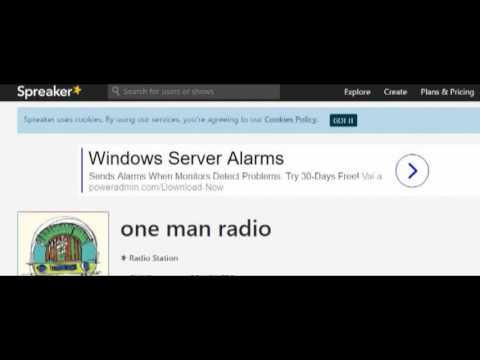 ONE MAN RADIO -- Intervista col presidente di AIVS Associazione Italiana Vittime delle Sette