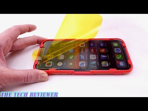 Zagg Glass+ Anti-Glare for iPhone XR: Installation and Review!