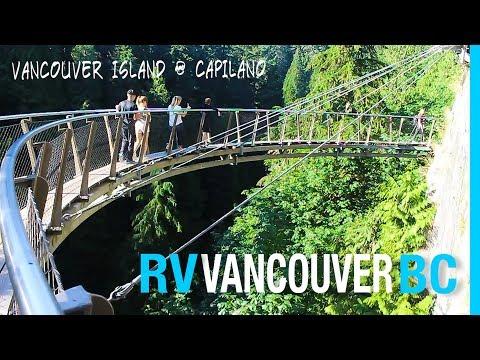 VANCOUVER BC MEET-UP | CAPILANO SUSPENSION BRIDGE | RV CANADA