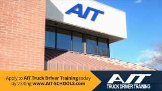 truck driving school cdl training ait truck driver training