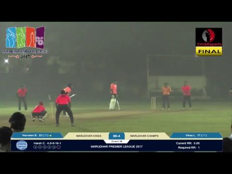Marudhar Premiere League 2017-2018 | Live Stream | FINAL