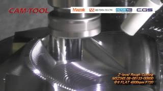 CAM-TOOL Milling Sample ( CGSAC MAZAK Vol.4)