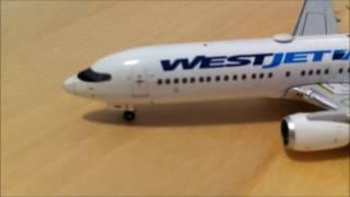 1:400 Geminijets Westjet 737-800 Review