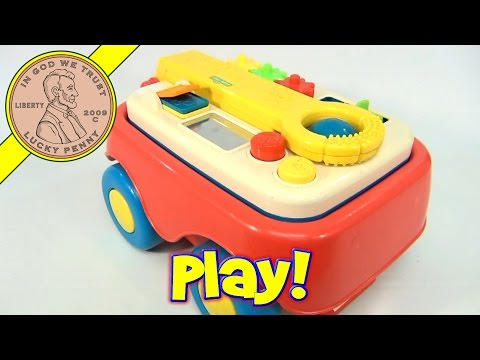 Sesame Street Grow & Go Activity Wagon, 1996 Tyco Toys