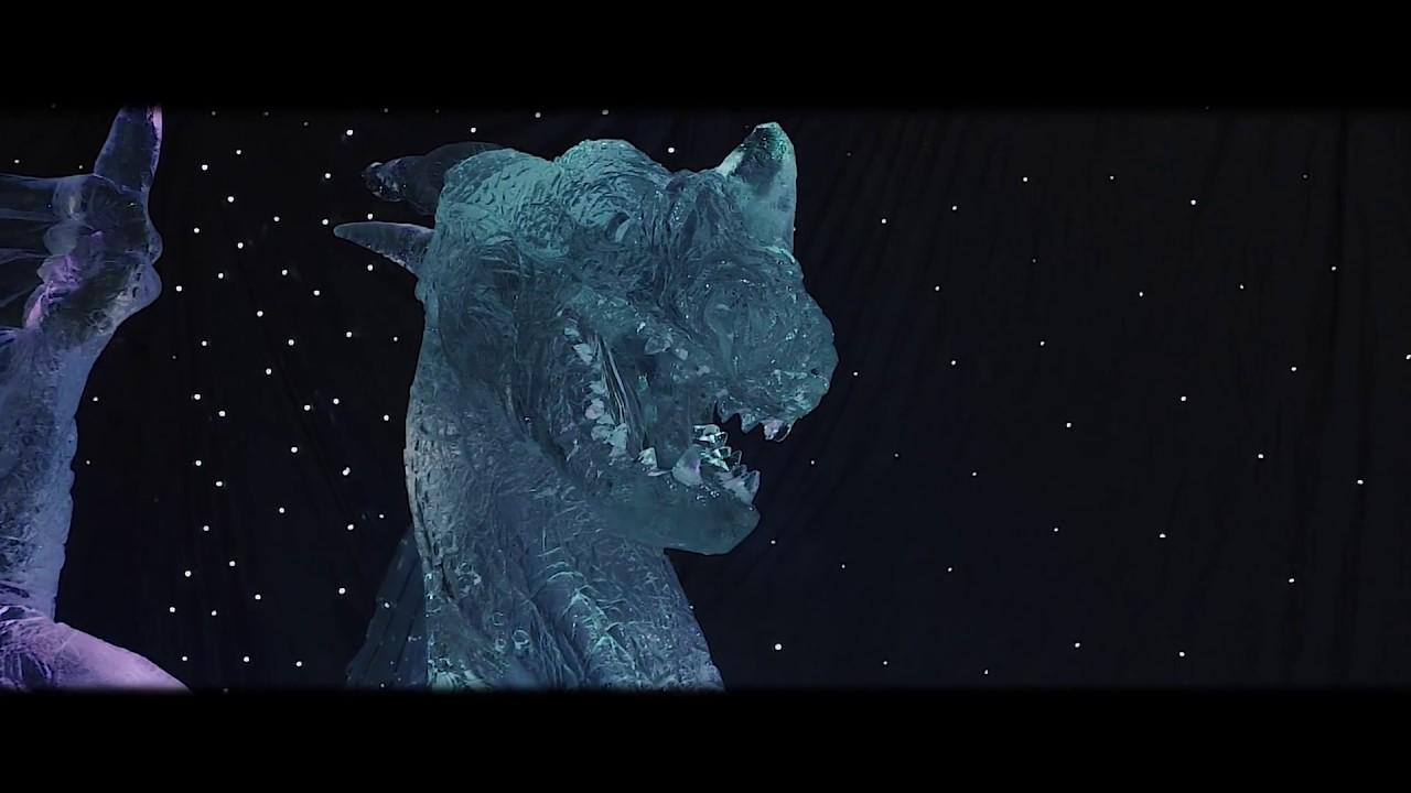 Ice Magic Linz Wie Alles Begann Der Aufbau Youtube