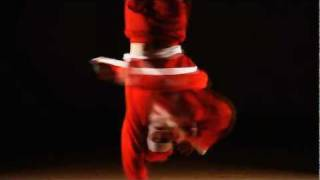 Santa Claus Break Dance