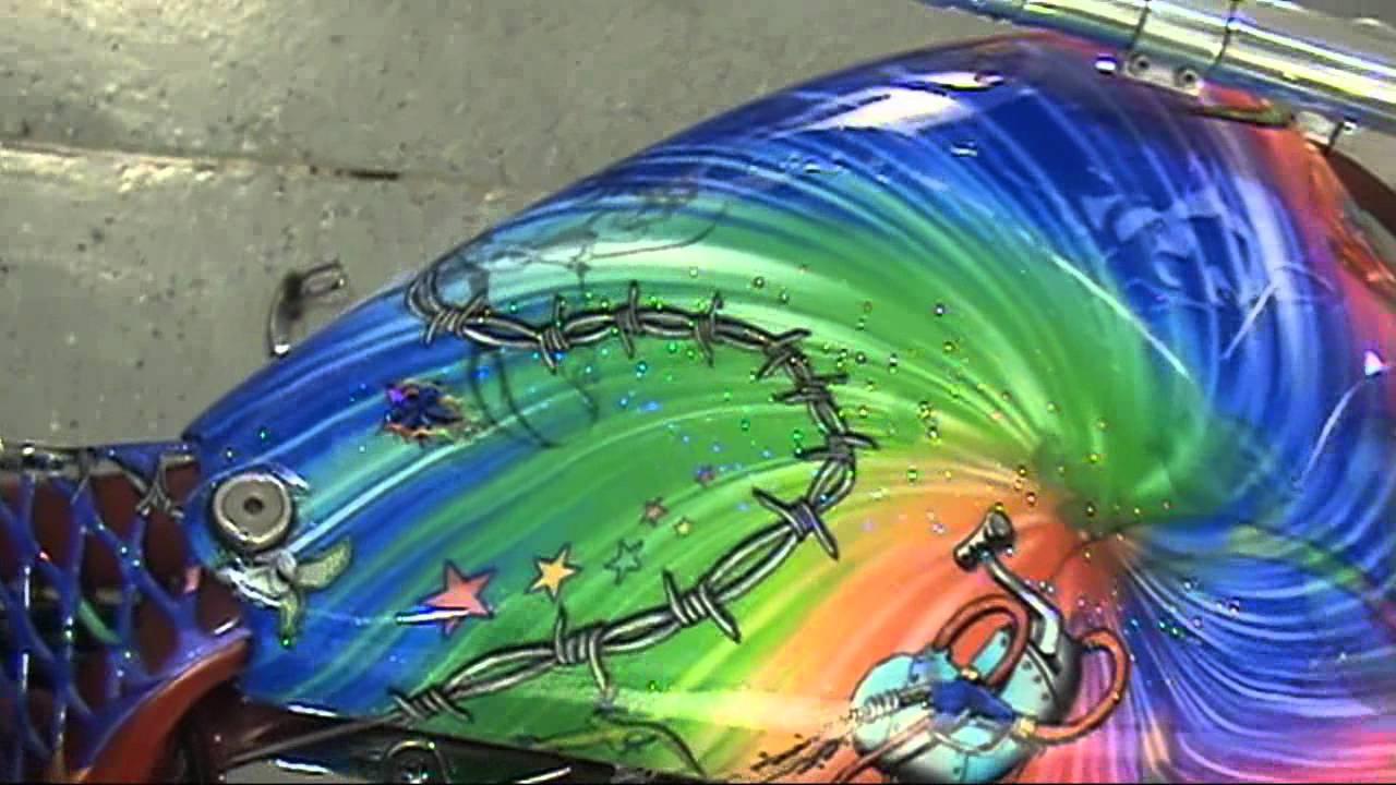 Auto Trim Design Custom Airbrush Wrap Graphics Bourget