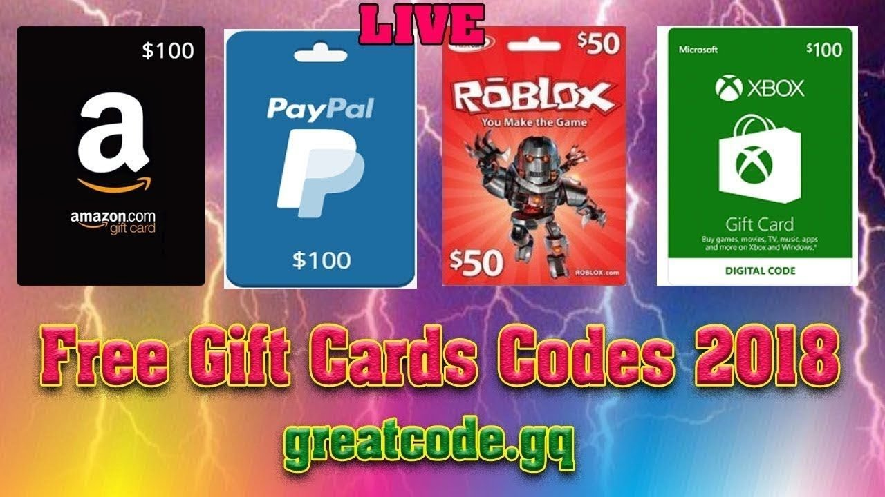 Free Playstation Xbox Roblox Gift Card Codes 2019 Youtube