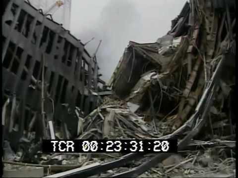 September 11, 2001 World Trade Center aftermath raw stock footage Part 2 PublicDomainFoota