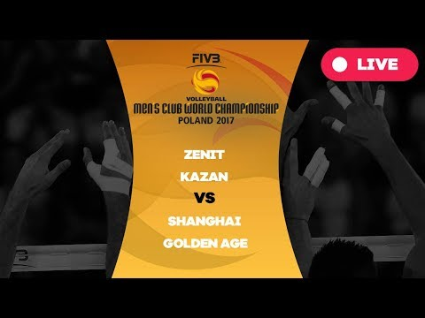 Men's Club World Championship, Group B, Zenit Kazan - Shangh