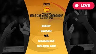 Men's Club World Championship, Group B, Zenit Kazan - Shanghai Golden Age