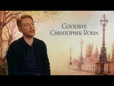 "Goodbye Christopher Robin: Domhnall Gleeson ""A.A Milne"" Official Movie Interview"