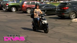 Brie Bella's sweet new scooter causes waves: Total Divas Preview Clip, March 8, 2016