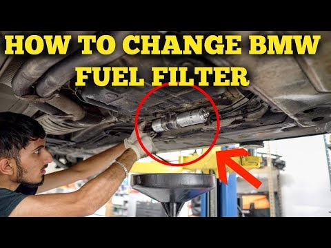 How To Change Fuel Filter - BMW E46 DIY - YouTube