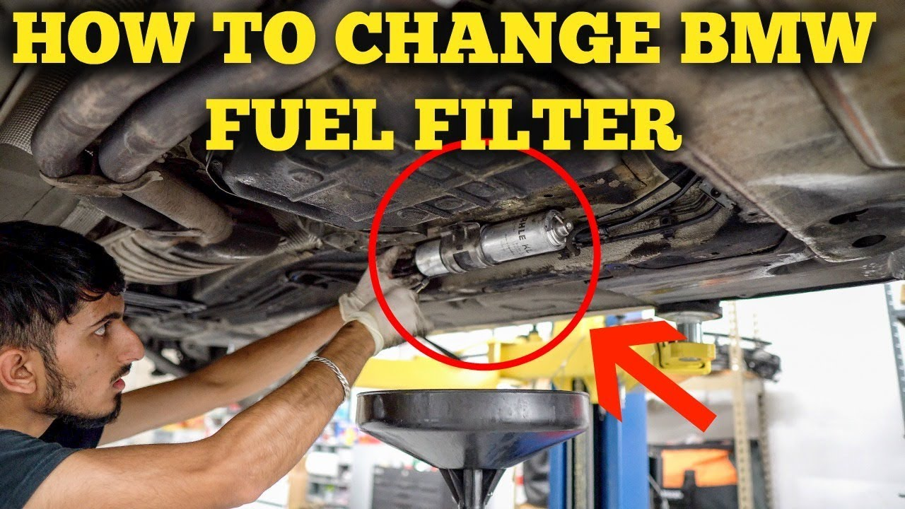 how to change fuel filter bmw e46 diy [ 1280 x 720 Pixel ]