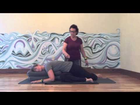 august 2015 yin pose stag twist  youtube