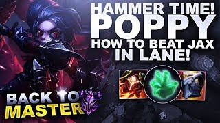 HAMMER TIME WITH POPPY! - Back to Master | League of Legends
